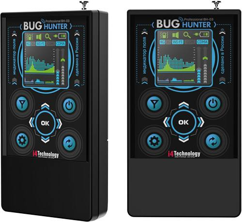 """Дизайн детектора жучков """"BugHunter Professional BH-03"""" соответствует современным требованиям"""