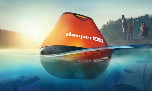 Deeper Start має відмінні показники дальності закидання (50 м) та глибини сканування (50 м)