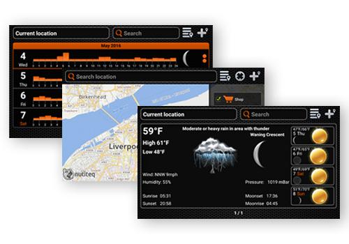 Отримайте повний контроль над усіма гідроакустичними функціями за допомогою мобільного додатка Deeper.