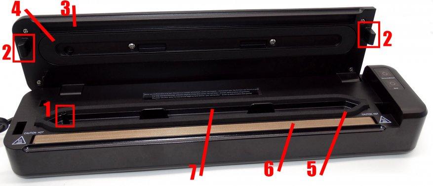 Вакуумный упаковщик Caso Germany VC 6 - фото 518a2d7c8c.jpg