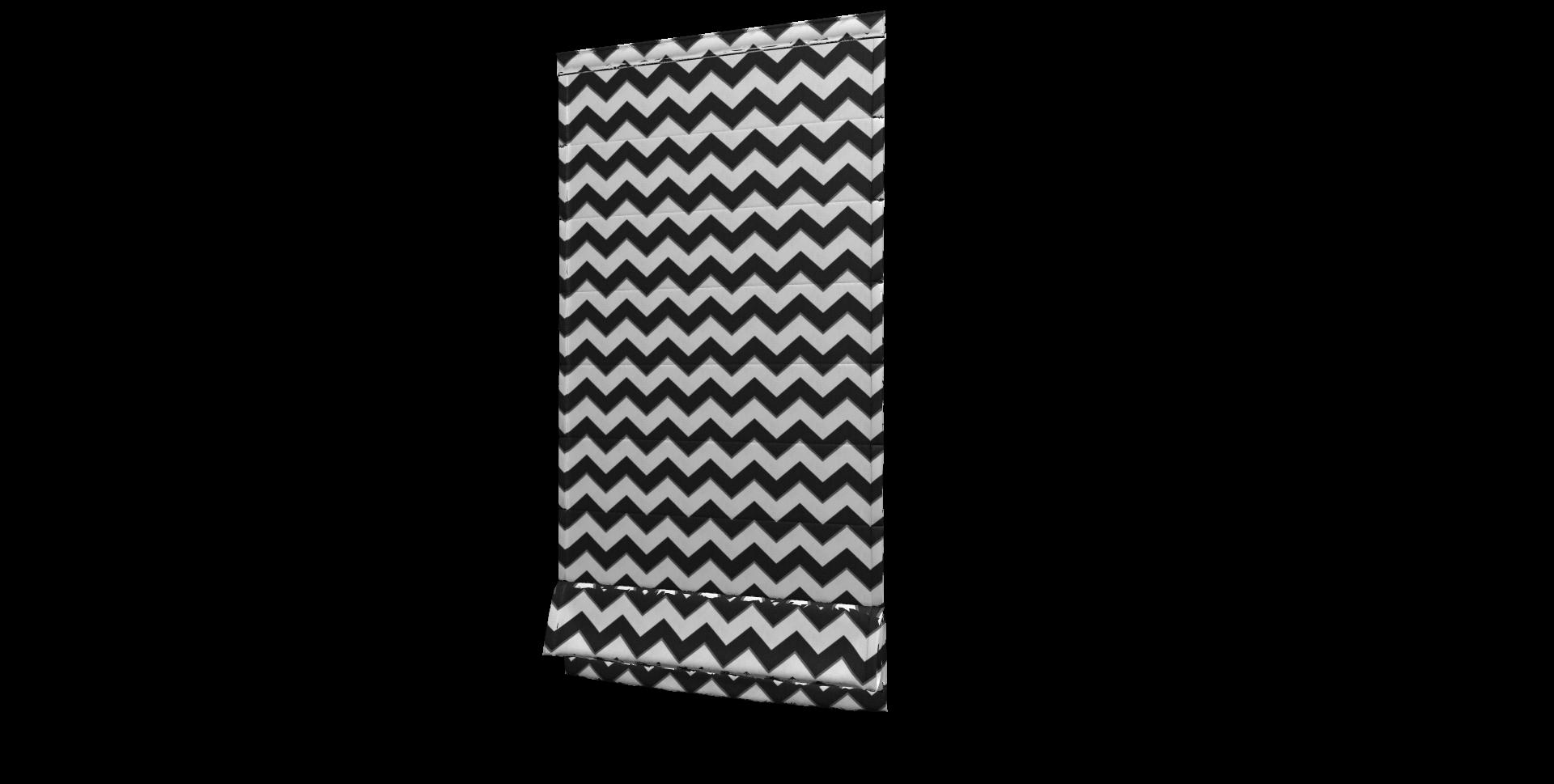 Ткань декоративная для штор, подушек с черно-белым зигзагом и тефлоном - фото b33b93dd1bd7dee8d80e24b8c2623d12.png
