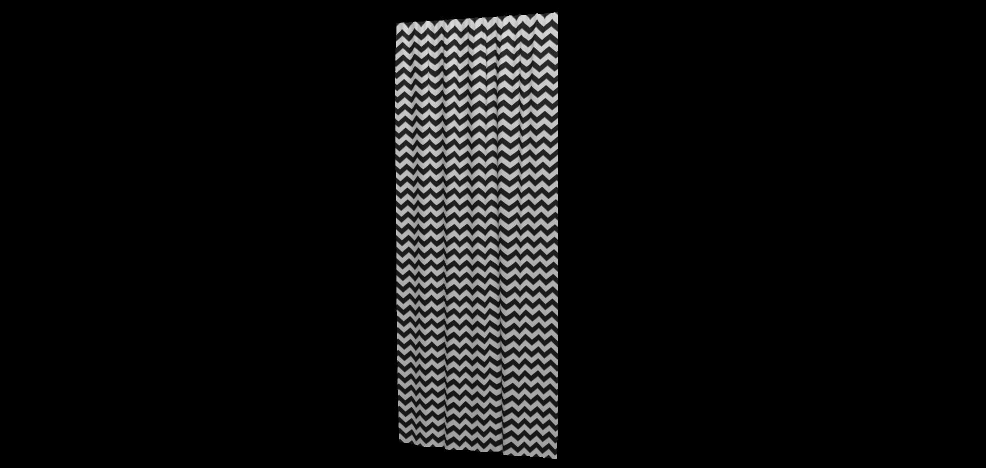 Ткань декоративная для штор, подушек с черно-белым зигзагом и тефлоном - фото a4af29f213d369a24aaa8ee3c3c9c60f.png