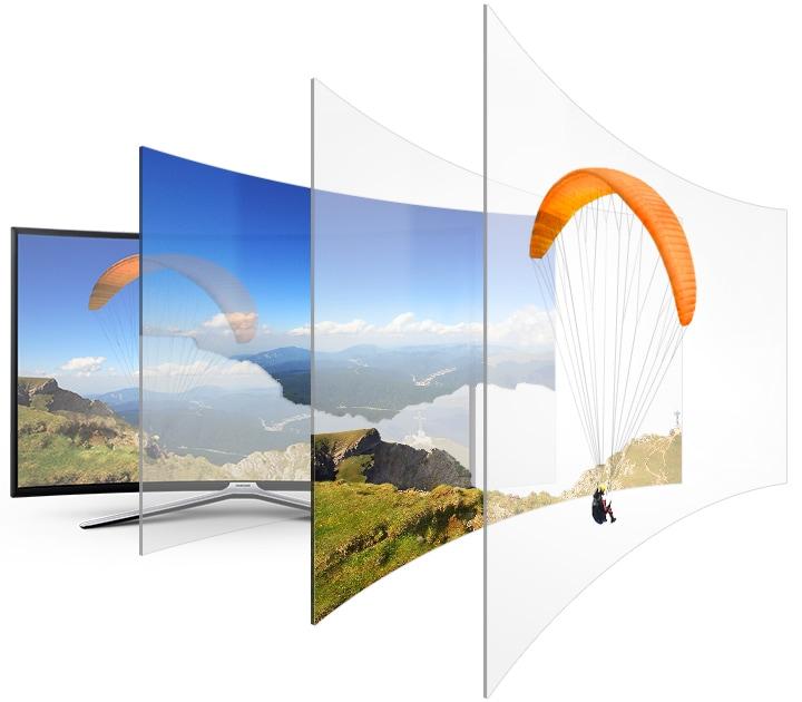 Телевизор Samsung UE49M6503 Curved Smart TV - фото Auto Depth Enhancer