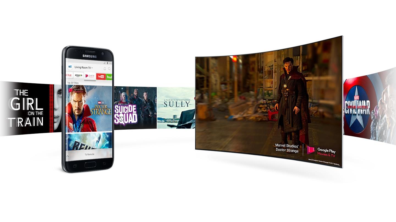 Телевизор Samsung UE49M6503 Curved Smart TV - фото Приложение Smart View