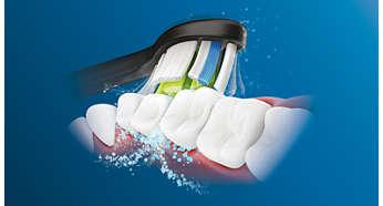Зубная электрощетка PHILIPS HX9352/04 SonicareDiamondClean black - фото 6