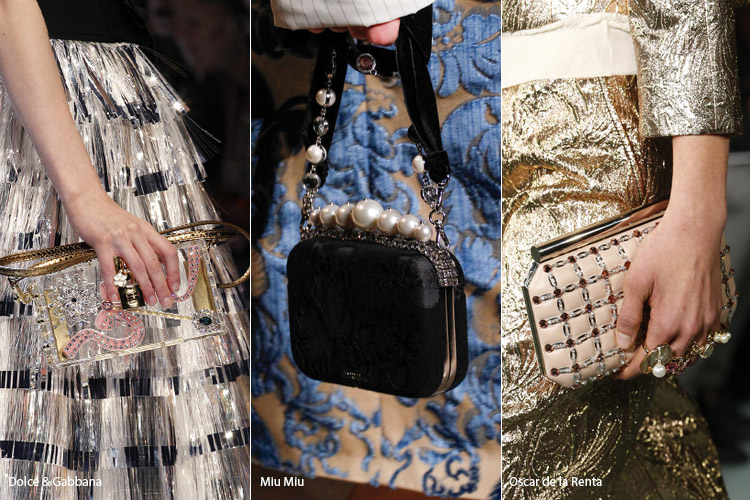 Модные сумки на сезон осень, зима . Новые тенденции - фото Сумочки минодьеры - тенденции осень 2016, зима 2017