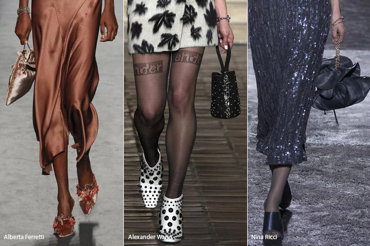Сумки мешочки на шнуровке - тенденции осень 2016, зима 2017