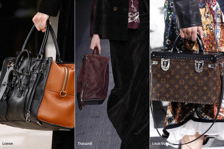 Модные сумки на сезон осень, зима . Новые тенденции - фото Сумки для путешествий - тенденции осень 2016, зима 2017