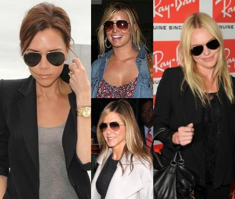 С чем следует носить солнцезащитные очки-капельки?