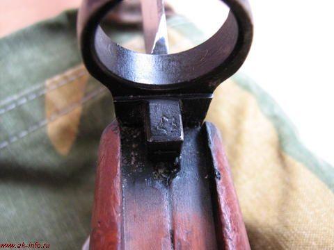 Штык-нож АК 6Х3 СССР. Тульские клейма
