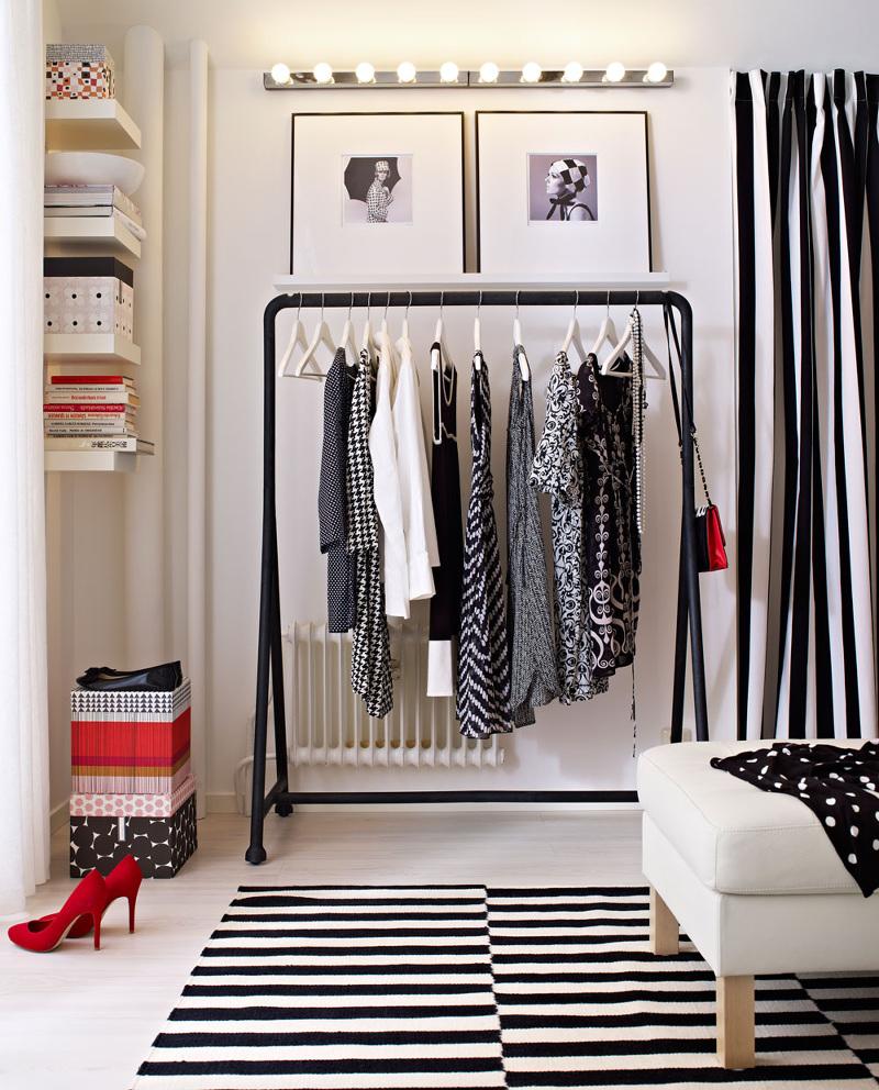 Вешалки, стойки для одежды - фото Напольная вешалка