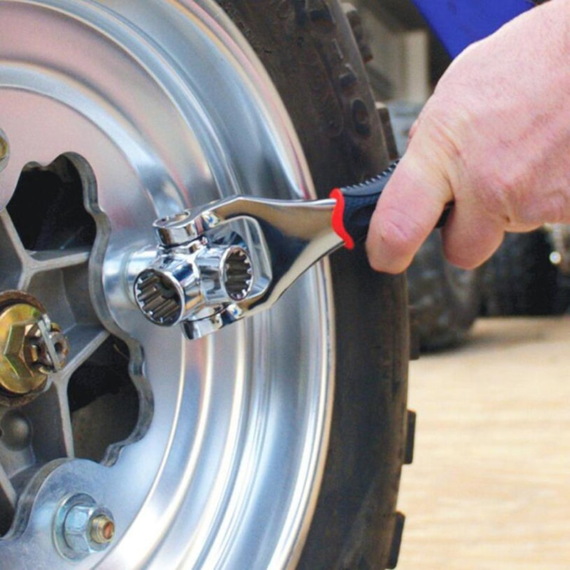 Универсальный многофункциональный гаечный ключ Universal Tiger Wrench 48 в 1 - фото 8f0f00fa30c11bb51702a1fae6eeead7.jpg