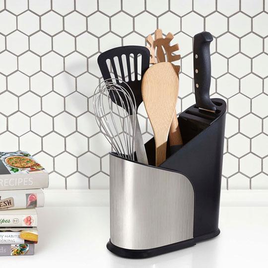 Подставка для столовых приборов - фото Стильный дизайн