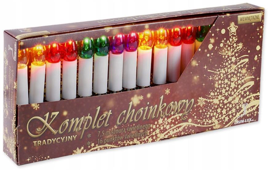Традиційна ялинка запалює ПОЛЬСЬКІ свічки від Народної Республіки Польща EAN 5905003000031