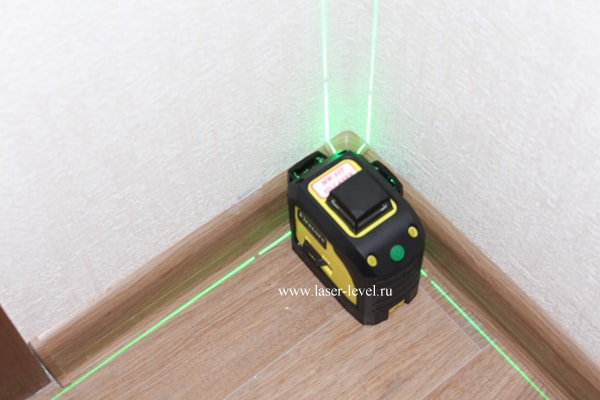 Firecore 3D зелёный 90 градусов