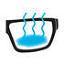 Маска на все лицо Tribord Easybreath для снорклинга, подводного плавания, дайвинга, Триборт Изибриз, рекплика! - фото 4
