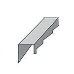 Доборные элементы композитной металлочерепицы - фото 9
