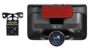 Автомобильный видеорегистратор DVR K8 360 градусов + камера заднего вида, сенсорный экран, Акция - фото 2