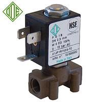 Электромагнитный клапан для воды 21JP1RRV23, G1/8