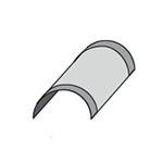 Доборные элементы композитной металлочерепицы - фото 1