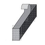 Доборные элементы композитной металлочерепицы - фото 18