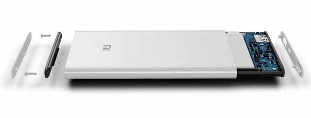 Xiaomi Портативное зарядное устройство MI 12000 mAh Slim, Power Bank 12000 slim, портативное зарядное MI - фото 6
