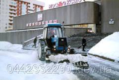 Механизированная уборка снега в Киеве и Киевской области - фото 4
