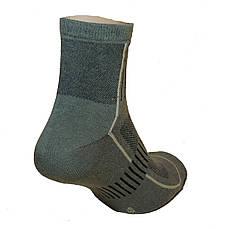 Носки треккинговые летние олива, фото 2