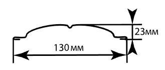 Штакетник металлический для забора PE 0,4 мм - фото 1