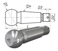 Палец шаровой наконечника рулевой тяги «КамАЗ»