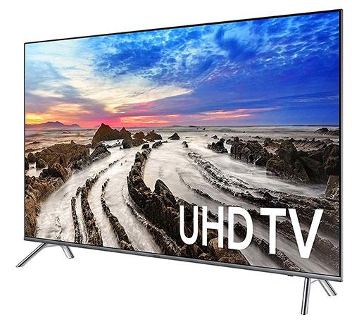 Телевизоры Samsung 2017 - фото MU8