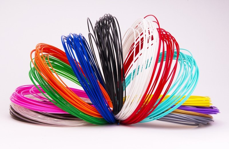 PLA Пластик для 3D ручек (20 цветов по 10 метров) - фото 546rgytry.jpg