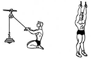 Тренировка спины на шведской стенке и с утяжелителями - фото тренируем широчайшие мышцы спины