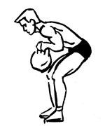 Тренировка спины на шведской стенке и с утяжелителями - фото работа мышц низа спины