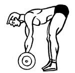 Тренировка спины на шведской стенке и с утяжелителями - фото сильная спина