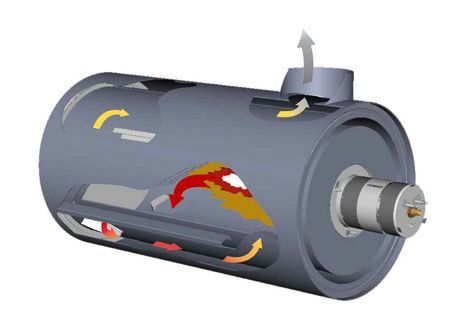 Газовая Тепловая Пушка PHOEN/N 100 (природный газ) - фото 3