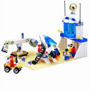 Конструктор Brick 513 Тренировочная база астронавтов - фото 2