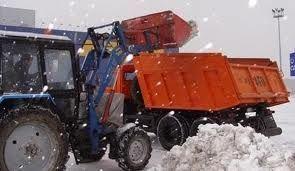 Трактор погрузчик для уборки снега Киев - фото 7