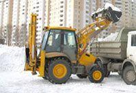 Трактор погрузчик для уборки снега Киев - фото 3