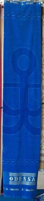 Полотенце махра, велюр, жаккард, ОДЕССА 90 х 170 см. 770260 - фото Полотенце для сауны