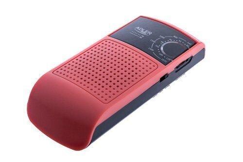 Радио карманное Adler AD 1159 red - фото Adler AD 1159 red