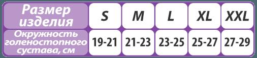 Бандаж на голеностопный сустав компрессионный Т-8691 - фото pic_2a13f0132b2a011_700x3000_1.png
