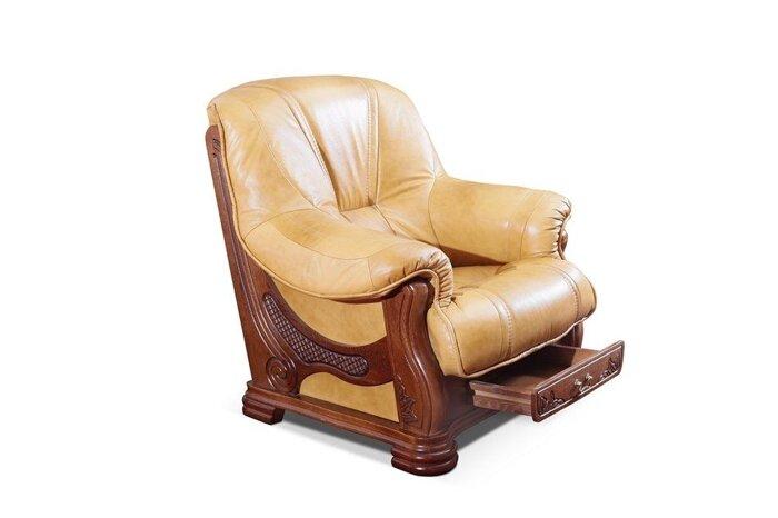 Кожаный комплект Senator, кожаная мебель, шкіряні меблі - фото 1
