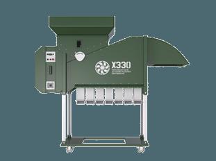 прямоточный сепаратор зерна