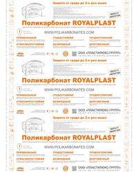 Поликарбонат RoyalPlast, лист 6х2,1 м - фото pic_c3d672df24fa11a_700x3000_1.jpg