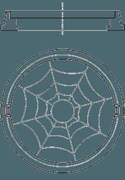 Люк полимер-композитный легкий круглый - фото pic_91e87706bff8532_700x3000_1.png