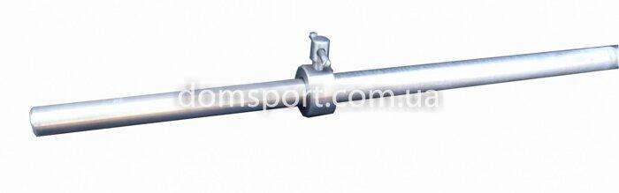Металлический прямой гриф для штанги 150 см (25 мм) (металевий прямий стальной) - фото 2