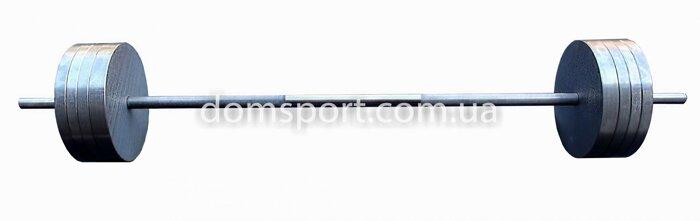 Металлический прямой гриф для штанги 150 см (25 мм) (металевий прямий стальной) - фото 4