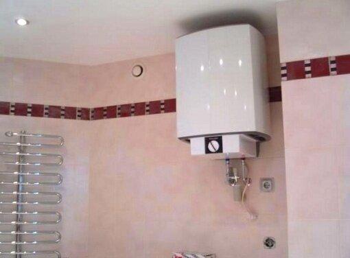 монтаж накопичувального водонагрівача
