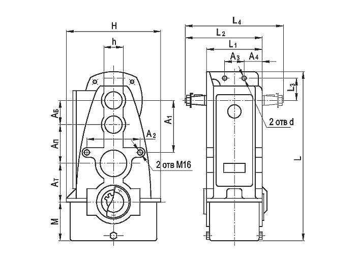 Цилиндрические редукторы - фото Конструкция цилиндрического редуктора